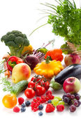Vegetables,fruits and berries — Stock Photo