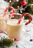 Creamy Peppermint Punch — Stock Photo