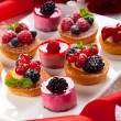 Assorted desserts — Stock Photo #38408087