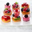 Assorted desserts — Stock Photo #38408111