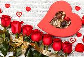 Růže červené — Stock fotografie