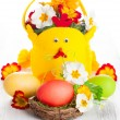 Easter table decoration — Stock Photo #40134913
