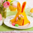 Easter table setting — Stock Photo #40607003