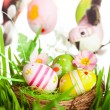 Easter eggs and birds — Stock Photo #40607007
