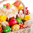 Easter basket — Stock Photo #40607019