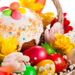 Easter basket — Stock Photo #40607089