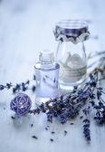 Lavender oil — Stock Photo