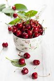 新鲜樱桃 — 图库照片