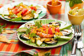 Mexican Grilled Shrimp Salad  — Stock Photo