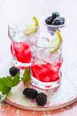 Blackberry Lemonade — Stock Photo