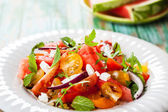 Tomato and Watermelon Salad — Foto Stock