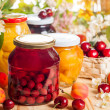 Preserved fruit and berries — Stock Photo #48983459