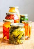 Vegetable preserves — Stock Photo