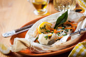 Cod fillets — Stock Photo