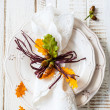 Autumn table setting — Stock Photo #50882761