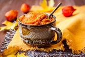 Pumpkin puree — Stock Photo