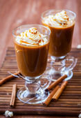 Pumpkin Spice Coffee — Stock Photo