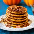 Pumpkin pancakes — Stock Photo #51114921