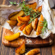 Potato wedges — Stock Photo #51115145