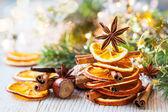Especias de navidad — Foto de Stock