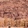 Ancient City of Petra, Jordan — Stock Photo