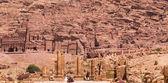 Ancient City of Petra, Jordan — Stock Photo