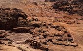 Petra Theater, Jordan — Foto Stock