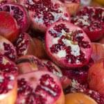 Red grenade apple — Stock Photo #8686214