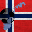 Norwegian football — Lizenzfreies Foto