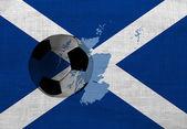 スコットランドのフットボール — ストック写真
