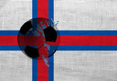 Faroe football — Stockfoto