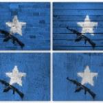 Somali flag collage — Stock Photo #12642645