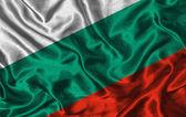 Vlag van de zijde van bulgarije — Stockfoto
