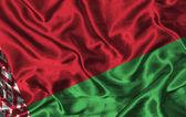 Silk Flag of Belarus — Stock Photo