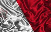 Seta bandiera di malta — Foto Stock