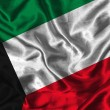 Silk Flag of Kuwait — Stock Photo #14058571