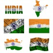 Stock Photo: Indiflag collage