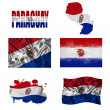Paraguayflag collage — Stock Photo #17021291