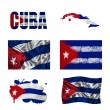 Cubflag collage — Stock Photo #18025573