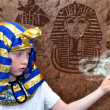 Egyptian boy — Stock Photo