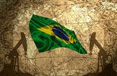 Brazil Oil Power — Stock Photo