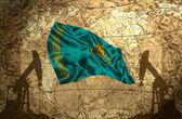 Kazakhstan Oil Power — Stock Photo