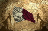 Qatar Oil Power — Stock Photo
