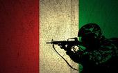Italy Military Strength — Stock Photo