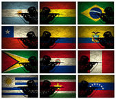 South America Military Strength — Stock Photo