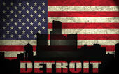View of Detroit City — Stock Photo