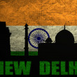 Stock Photo: View of New Delhi