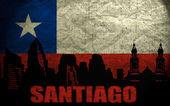 View of Santiago — Stock Photo