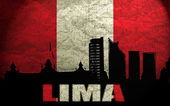 View of Lima — Stock Photo