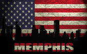 View of Memphis City — Stock Photo